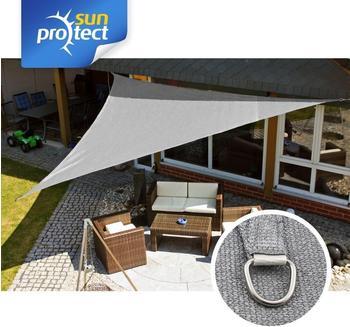 Sunprotect Dreieck 5 x 5 x 7 m silber grau