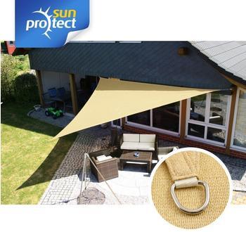 Sunprotect Dreieck 5 x 5 x 7 m beige