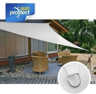 Sunprotect Dreieck 3,6 x 3,6 x 5 m weiß