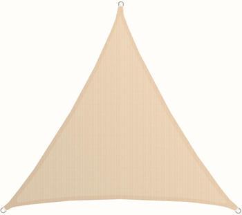 Amanka Dreieck HDPE 3 x 3 x 3 m beige