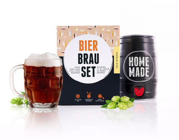 Brau Fässchen Bierbrauset Dunkles Bier 5 l