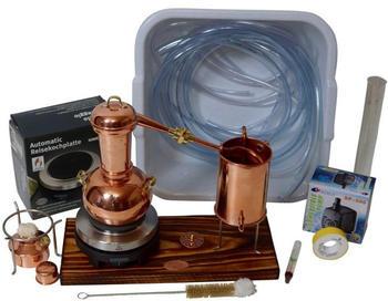 CopperGarden Destille 'Arabia' - 0,5 Liter Supreme Tischdestille - Sorgenfrei Paket mit allem Zubehör
