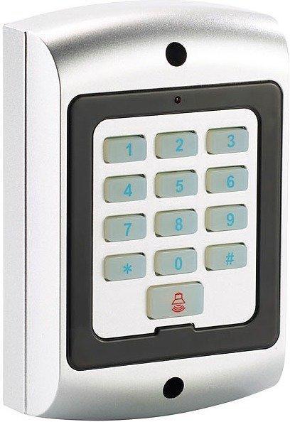 VisorTech Spritzwassergeschützte Alarmanlagen-Tastatur-Attrappe, IP44