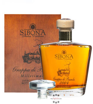 Sibona Grappa Riserva Speciale 2006 Barolo 44% 0,70l