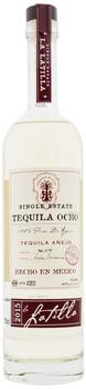 Numero Ocho La Latilla Anejo Tequila Single Estate 40% 0,7l