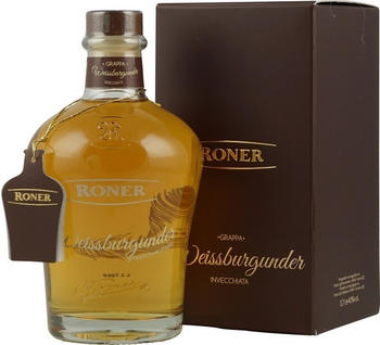 Roner Grappa Weissburgunder 0,7 l 40 %