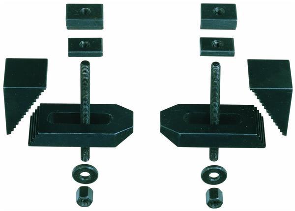 Proxxon Stufen-Spannpratzen gefräst, 2 Stück (24257)