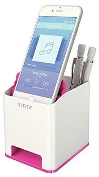 Leitz Sound Pen Holder Pink