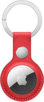 Apple AirTag Schlüsselanhänger aus Leder (PRODUCT)RED