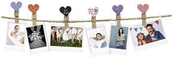 Fujifilm Instax Design Clips 10er Set Motiv Herz