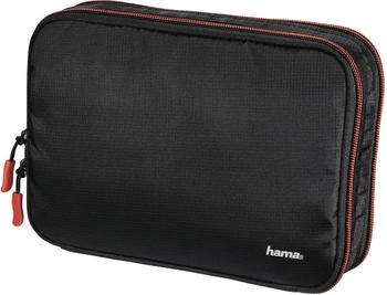 Hama Fancy L (22,5x7x16cm) Schwarz, Rot Polytex Camera filter pouch