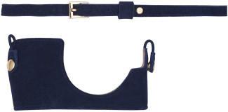 Olympus Kamera-Outfit (Hülle und Wildleder Schulterriemen) Into The Blue