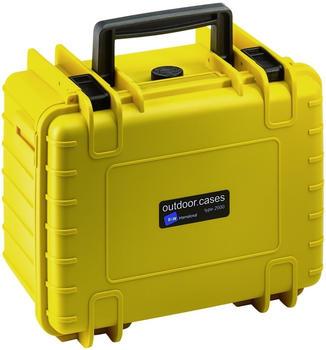 B&W Outdoor Case Type 2000 mit Schaumstoff Inlay