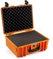 B & W Outdoor Koffer outdoor.cases Typ 6000 32,6 l Orange 6000/O/SI