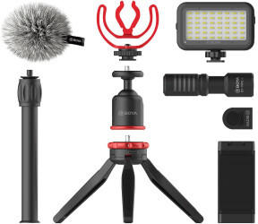 Boya BY-VG350 Vlogging Kit Schwarz
