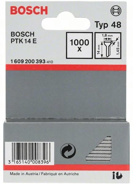 Bosch Tackernägel 14mm (1609200393)