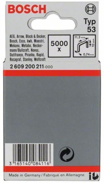 Bosch Tackerklammern Typ 53 11,4x10mm (2609200211)