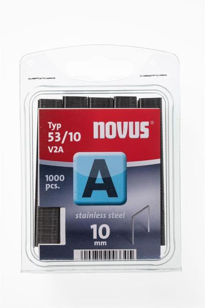 Novus 53/10 V2A (1.000 Stück)