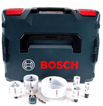 BOSCH ACCESSORIES Bosch Lochsägen-Set Progressor In L-Boxx
