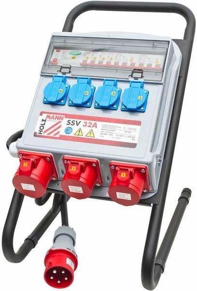 Holzmann Maschinen Cee Stromverteiler Ssv32a 400 V 32 A
