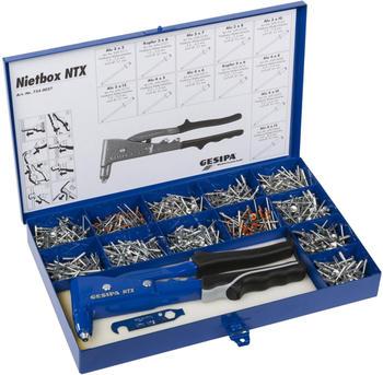 """Gesipa Handnietzangen-Set """"Nietbox NTX"""""""
