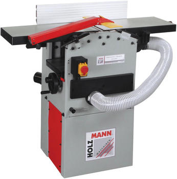 Holzmann Maschinen HOB260ABS_400V Abricht- und Dickenhobelmaschine mit Absaugung 1500/2100W 254mm