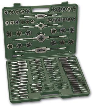 Brüder Mannesmann Werkzeuge Mannesmann Werkzeuge Gewindeschneider (110-tlg), Set, 110-tlg.