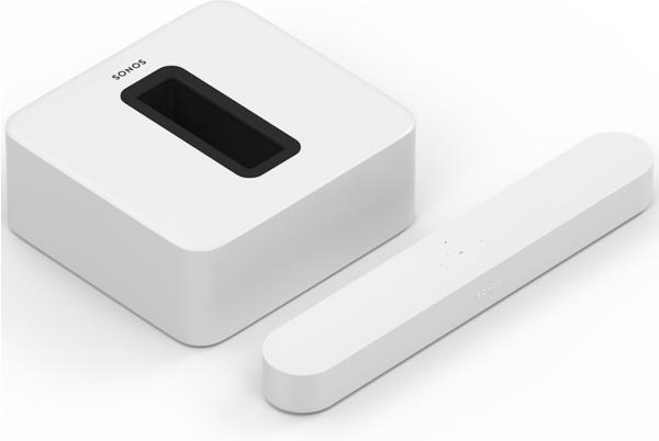 Sonos Beam (weiß) + Sonos Sub 3.1-Entertainment-Set