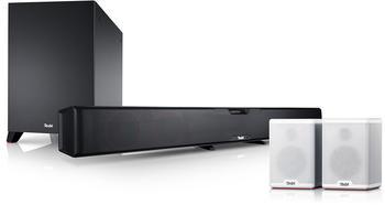 Teufel Cinesystem Pro 4.1-Set schwarz weiß
