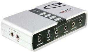DeLock USB Sound Box 7.1 (61803)