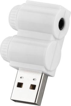 Goobay USB 2.0 Soundkarte Headset Adapter