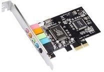 MicroConnect 24-Bit PCIe 5.1 Surround Soundkarte (MC-CMI6CH-PCIE)