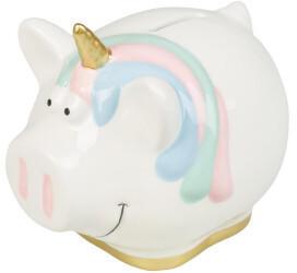 Idena Sparschwein Unicorn aus Keramik