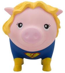 Lilalu Sparschwein Superheldin