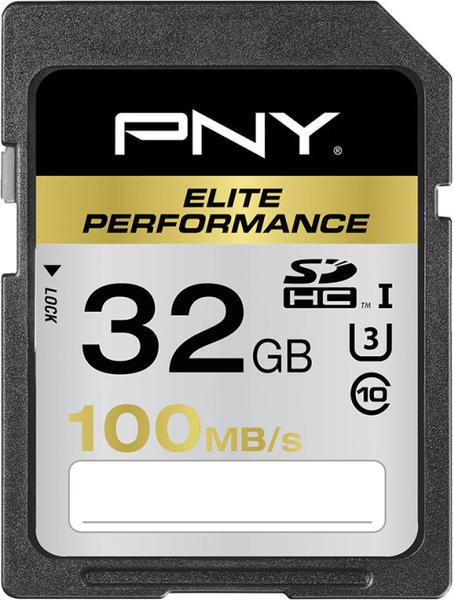 PNY SDHC Elite Performance 32 GB (SD32G10ELIPER-EF)