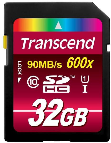 Transcend Ultimate-Speed 600x 32 GB