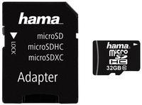 Hama MicroSDHC 32 GB (108089)