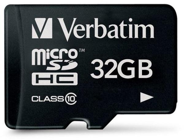 Verbatim Premium microSDHC 32 GB