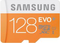 Samsung Micro SDXC 128GB EVO UHS-I Grade 1 Class 10 Speicherkarte