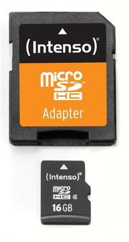 Intenso microSDHC 16GB Class 4 (3403470)