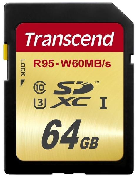 Transcend SDXC 64GB Ultimate Class 3 UHS-I (TS64GSDU3)