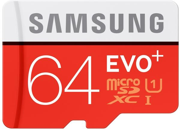 Samsung EVO Plus microSDXC 64GB (MB-MC64DA)