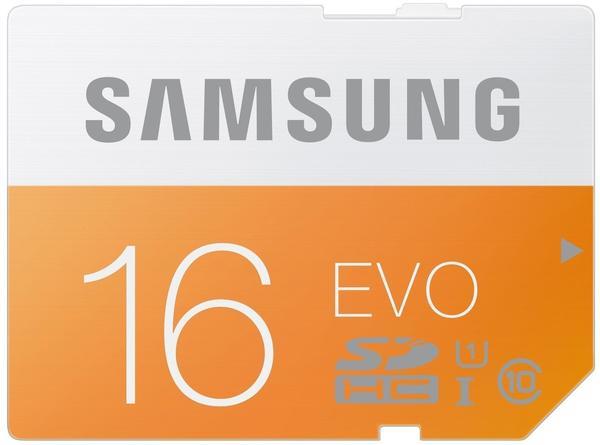 Samsung SDHC EVO 16GB Class 10 UHS-I