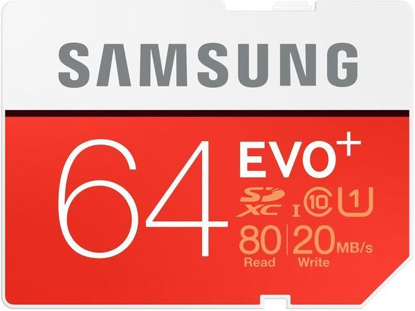 Samsung EVO Plus SDXC 64GB UHS-I U1 (MB-SC64D)