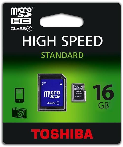 Toshiba microSDHC 16GB Class 4 (SD-C16GJ(BL5A)