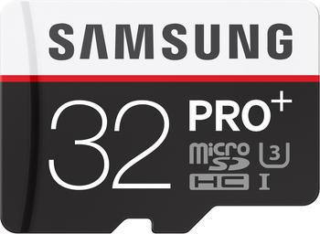 Samsung microSDHC PRO Plus 32GB Class 10 UHS-I U3 + SD-Adapter