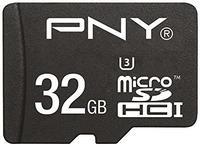 PNY microSDHC Turbo Performance 32GB Class 10 UHS-I U3 + SD-Adapter