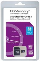 CnMemory microSDHC 32GB Class 10 UHS-I + SD-Adapter