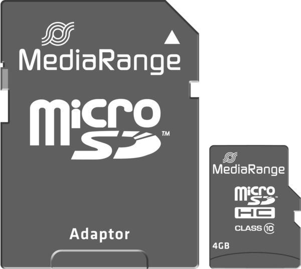 MediaRange microSDHC Class 10 4GB (MR956)