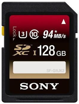 Sony SDXC 128GB Class 10 UHS-I U3 (SFG1UX2)
